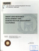 Smart Grid Research Development and Demonstration Assessment  California