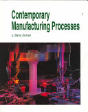 Contemporary Manufacturing Processes Book PDF