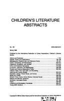 Children S Literature Abstracts