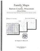 Family Maps of Barron County  Wisconsin