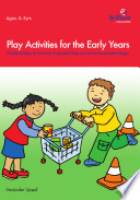 Play Activities for the Early Years Book