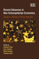 Recent Advances in Neo Schumpeterian Economics