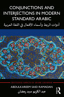 Conjunctions and Interjections in Modern Standard Arabic Pdf
