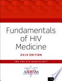 Fundamentals of HIV Medicine 2019 Book