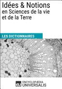 Dictionnaire des Idées & Notions en Sciences de la vie et de la Terre ebook