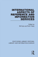 International Aspects of Reference and Information Services [Pdf/ePub] eBook
