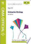 CIMA Official Exam Practice Kit Enterprise Strategy