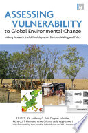 Assessing Vulnerability to Global Environmental Change Book