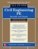 Civil Engineering All-In-One PE Exam Guide: Breadth and Depth, Third ...