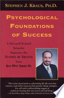 Psychological Foundations Of Success