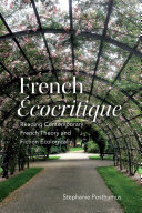 Pdf French 'Ecocritique' Telecharger