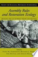 Assembly Rules and Restoration Ecology  : Bridging the Gap Between Theory and Practice