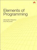 Elements of Programming Pdf/ePub eBook