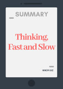 Summary: Thinking, Fast and Slow