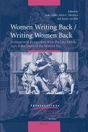Women Writing Back   Writing Women Back