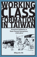 Pdf Working Class Formation in Taiwan