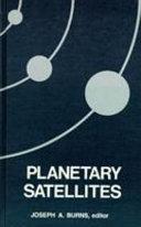 Planetary Satellites