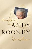 Sincerely, Andy Rooney Pdf/ePub eBook