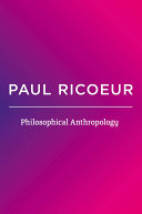 Philosophical Anthropology Book PDF