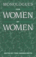 Monologues For Women By Women