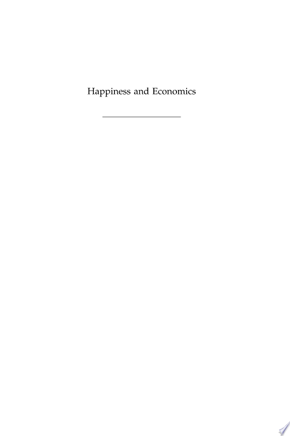 Happiness+and+Economics