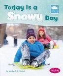 Today is a Snowy Day Pdf/ePub eBook