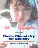 Basic Chemistry For Biology Book PDF