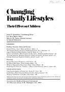 Changing Family Lifestyles