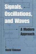 Signals  Oscillations  and Waves