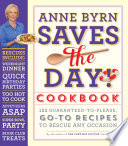Anne Byrn Saves the Day  Cookbook