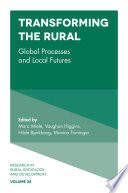 Cover image of Transforming the rural : global processes and local futures