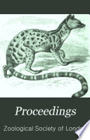 The Proceedings of the Scientific Meetings of the Zoological Society of London Book