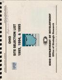 Ohio Site Selection List 1993  1994   1995