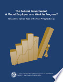 Federal Government A Model Employer Or A Work In Progress  Book PDF