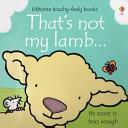 That s Not My Lamb