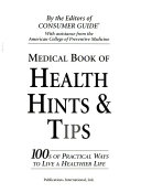 Medical Book of Health Hints   Tips