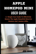 Apple Homepod Mini User Guide