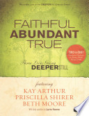 Faithful Abundant True Dvd Leader Kit