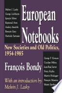 European Notebooks
