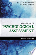 """Handbook of Psychological Assessment"" by Gary Groth-Marnat, A. Jordan Wright"