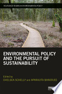 Environmental Policy and the Pursuit of Sustainability