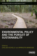 Environmental Policy and the Pursuit of Sustainability Pdf/ePub eBook