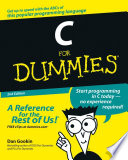 """C For Dummies"" by Dan Gookin"