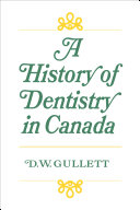 Pdf A History of Dentistry in Canada Telecharger