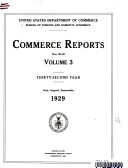 COMMERCE REPORTS NOS  26 39 VOLUME 3