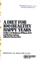 A Diet for 100 Healthy  Happy Years