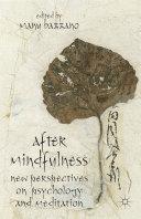 Pdf After Mindfulness Telecharger