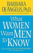 Pdf What Women Want Men to Know Telecharger