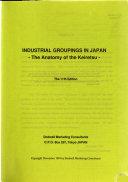 Industrial Groupings in Japan