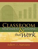 Classroom Assessment and Grading That Work Pdf/ePub eBook